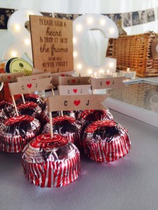 Cupcake/Favour flags 30p each