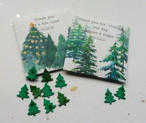 Christmas Tree Plantable Favours