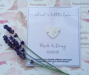 PLANT A LITTEL LOVE CARD X 1