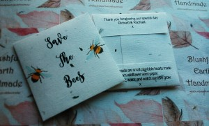 Save The Bees Black Font