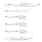 Mass Balance Equations